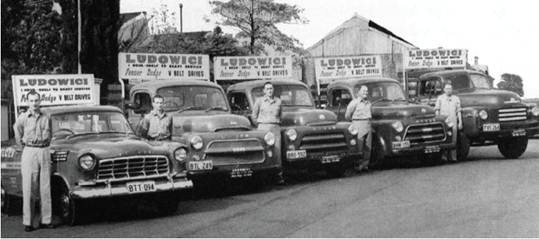 Ludowici Delivery Services 1950s